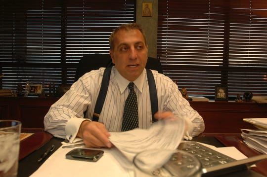 Fred Daibes, Chairman and CEO of Daibes Enterprises, in his Edgewater office in 2008, talks about how he  lost about $17 million in the Bernard Madoff Ponzi scheme.