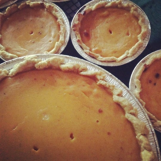 In the Company of Yum's sweet potato pies