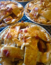 Made-from-scratch pies by self-taught pastry baker Jessica Glass of In the Company of Yum in Montclair