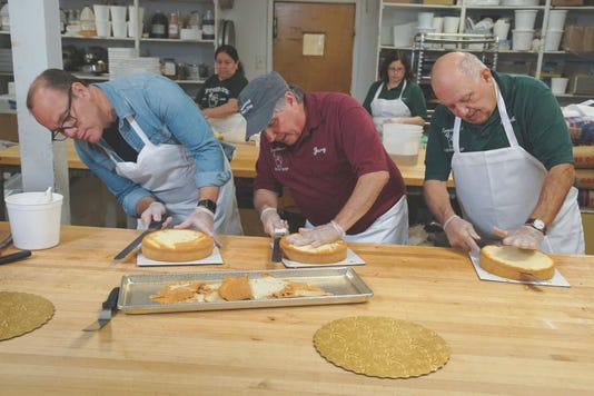 Tom Papa At Lyndhurst Pastry Shop On Food Networks Baked Credit Food Network