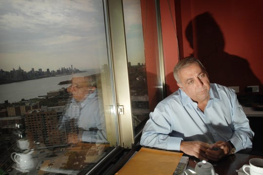 Fred Daibes, Edgewater-based developer, and largest shareholder in troubled Mariner's Bank, in his very large home within the St. Moritz in Edgewater in 2012.