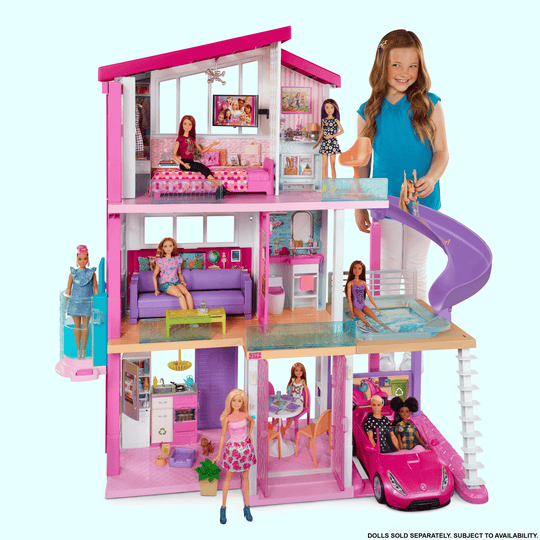 Barbie Dreamhouse $200, Target and Walmart