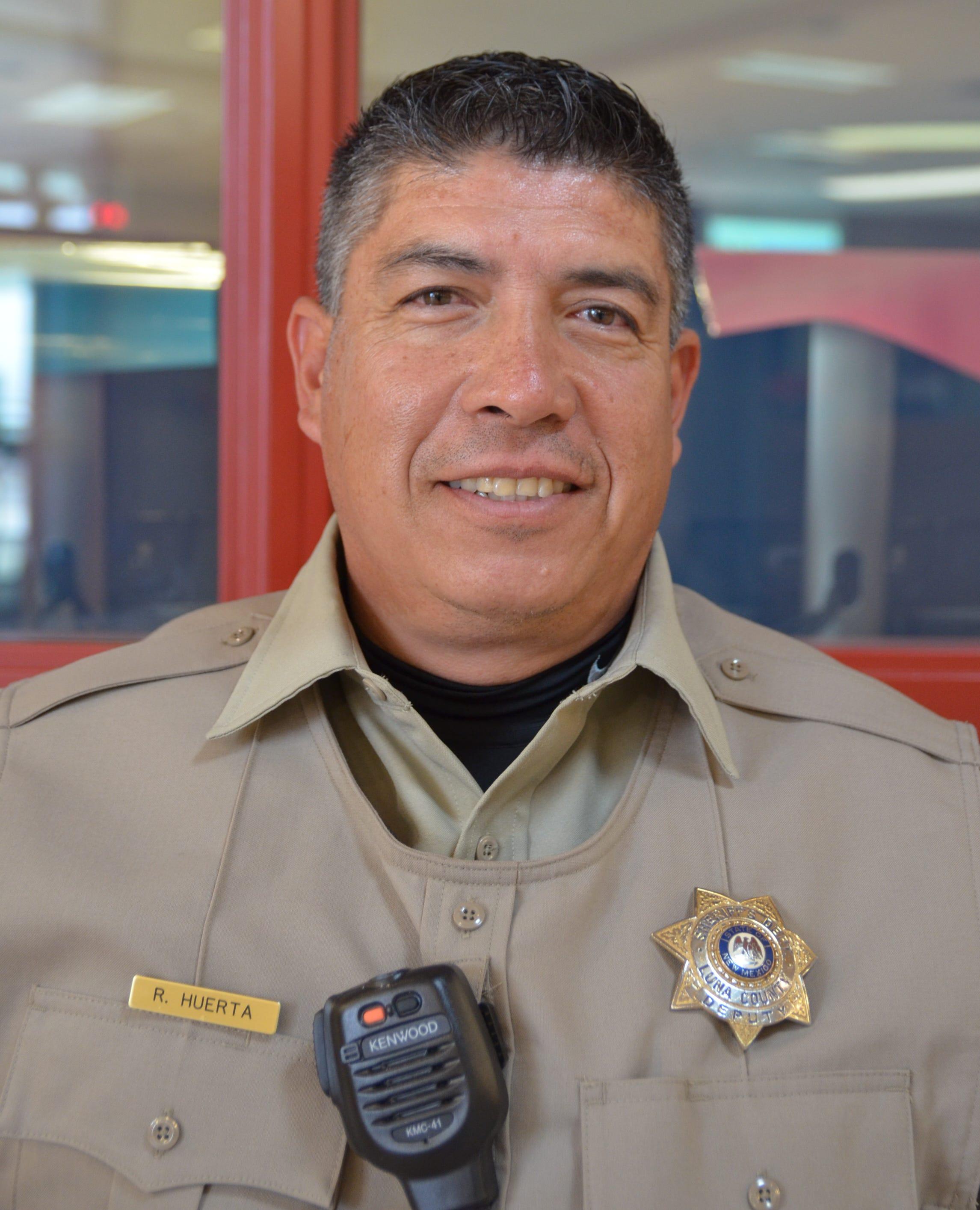 Sheriff Deputy and School Resource Officer Richard Huerta