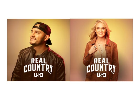 Frank Ray and Bri Bagwell Real Country photos