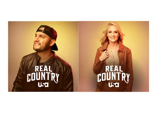 """Las Cruces country music artists Frank Ray and Bri Bagwell will appear in a new TV show called """"Real Country."""" Ray and Bagwell are among 21 contestants, whose names were announced Tuesday, Oct. 30, 2018."""