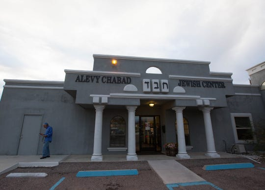 Alevy Chabad Jewish Center de Las Cruces is seen Oct. 29, 2018. The synagogue announced recently it will host Eva Schloss, step-sister and friend of Anne Frank, in March 2019.