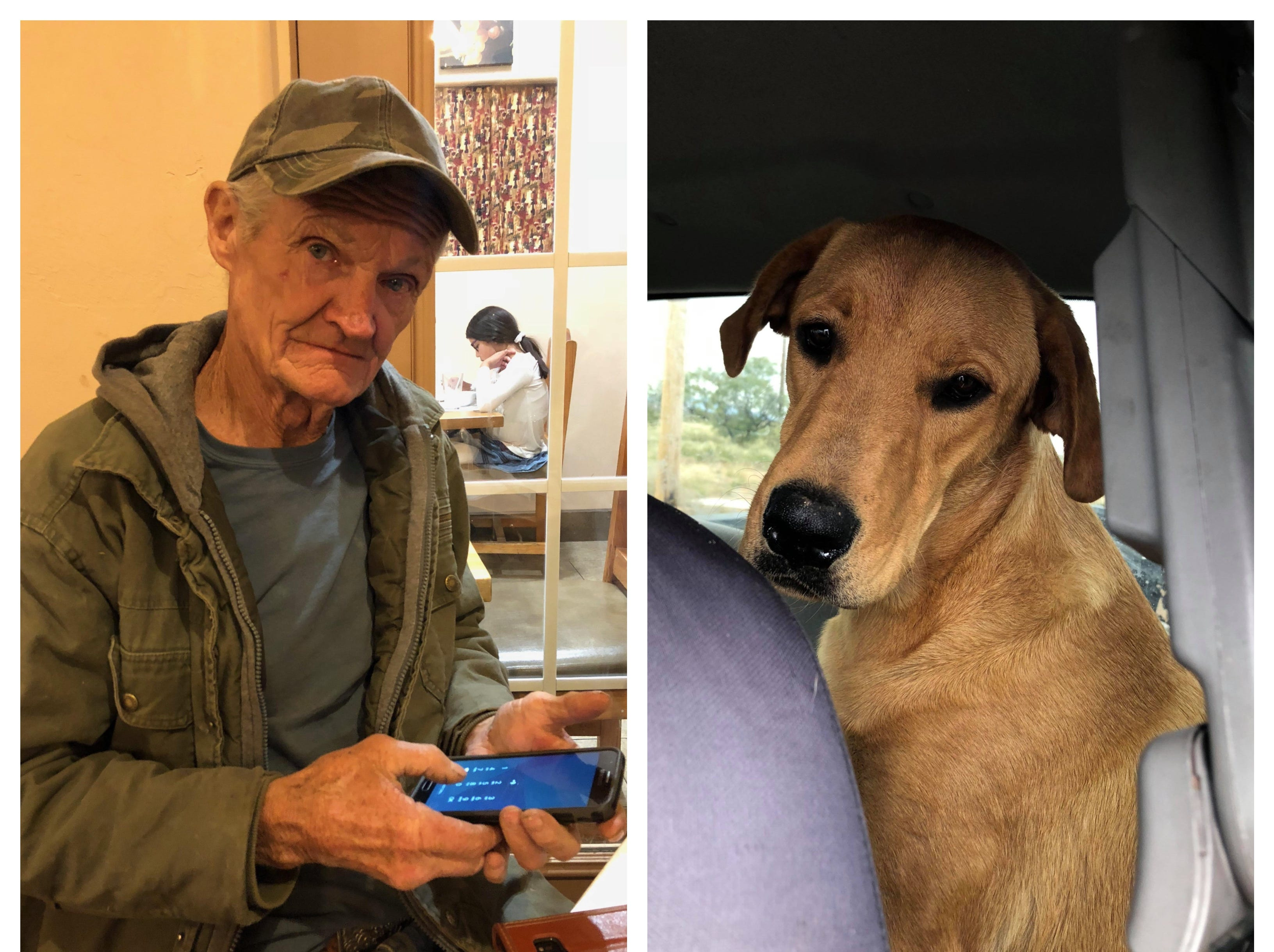 "Sonny ""Tex"" Gilligan, 74, was shot by his dog, Charlie, in a bizarre accident while  on a hunting trip Thursday, Oct. 25. Gilligan survived and is on the road to recovery."