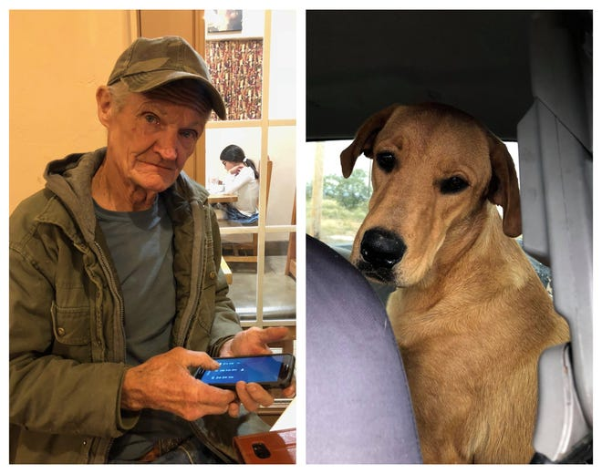 "Sonny ""Tex"" Gilligan, 74, was shot by his dog, Charlie, in a bizarre accident while  on a hunting trip Thursday, Oct. 25, 2018. Gilligan survived and is on the road to recovery."