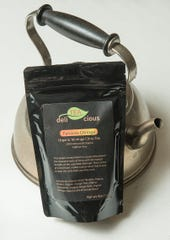 An organic ginger citrus tea with moringa created by Uma Swarnam