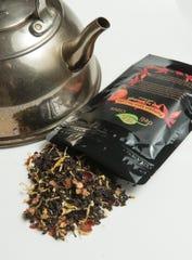 Tis the season. Pumpkin spice tea latte is one of the teas created by Uma Swarnam.