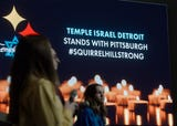 More than 300 Detroit-area teens came to Temple Israel supporting the families from Tree of Life Synagogue in Pittsburgh.