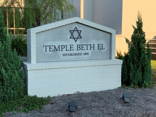 Temple Beth El on Palafox Street in Pensacola hosted a service for solidarity and healing on Tuesday night to honor the victims of Saturday night's shooting at a Pittsburgh synagogue.