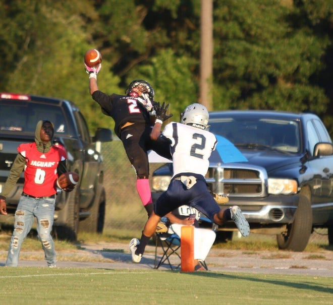 Action from Tuesday's game between West Florida High and Panama City Arnold at Woodham Middle School in Pensacola. (Oct. 30, 2018)