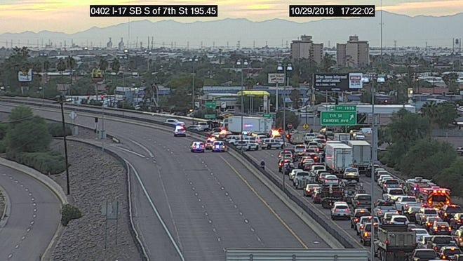 A police situation involving DPS shut Interstate 17 in Phoenix Monday night.