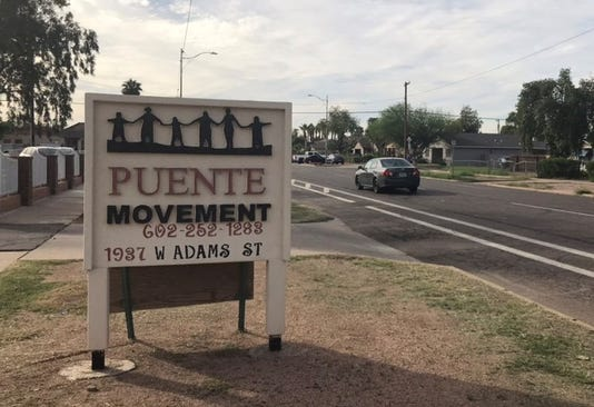 Puente Movement sign