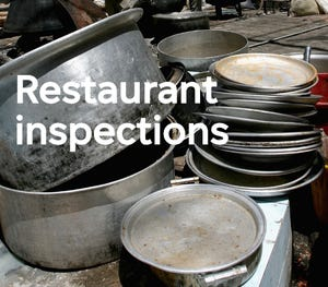 Get details on restaurants cited by health inspectors.