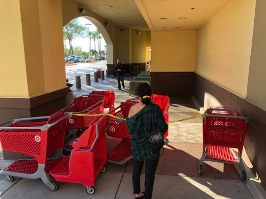 A Target store in Phoenix was evacuated for several hours on Oct. 30, 2018, after employees reported a man was pouring chemicals on items throughout the store.