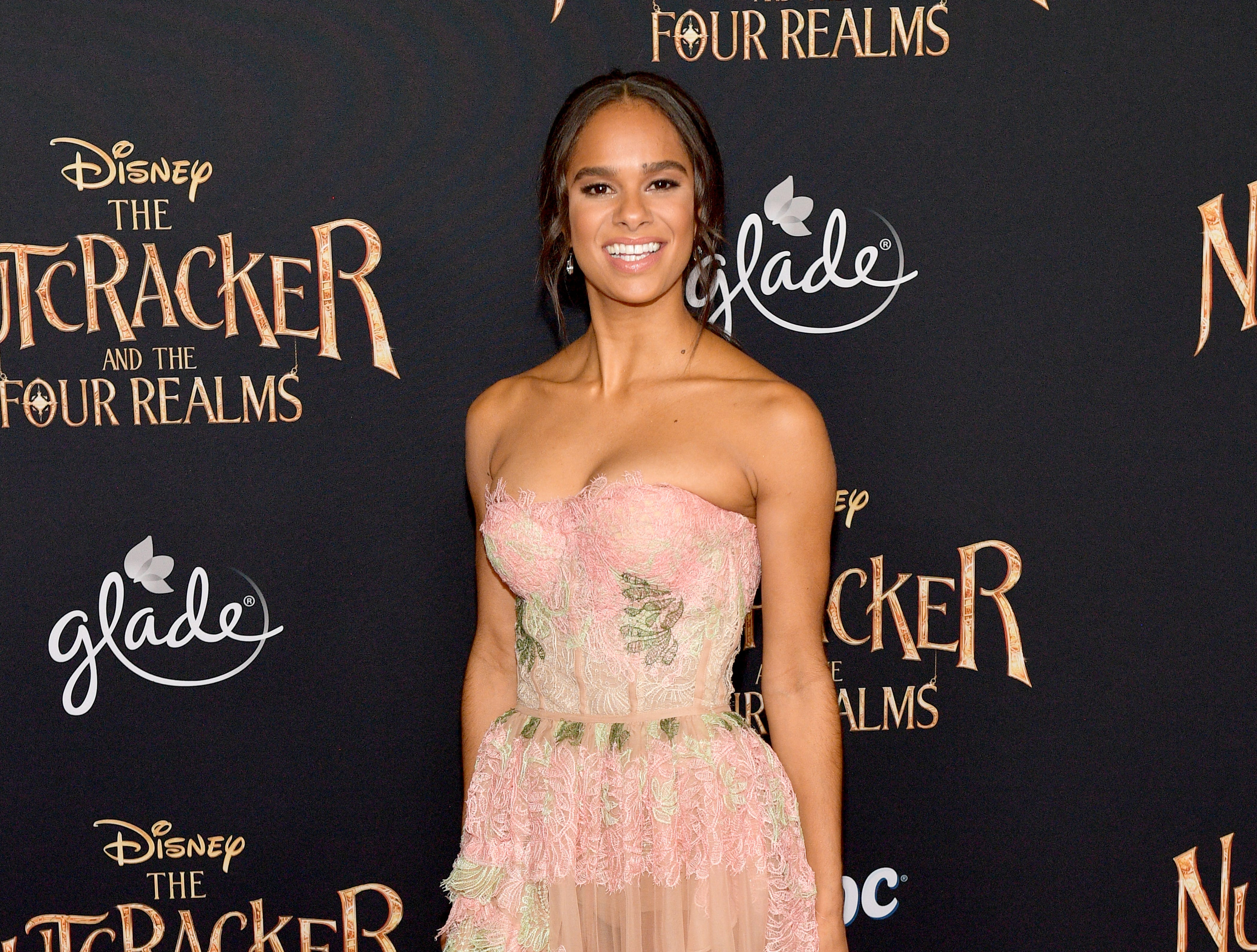 "Misty Copeland attends the world premiere of ""The Nutcracker and the Four Realms"" on Oct. 29, 2018, in Hollywood, California."