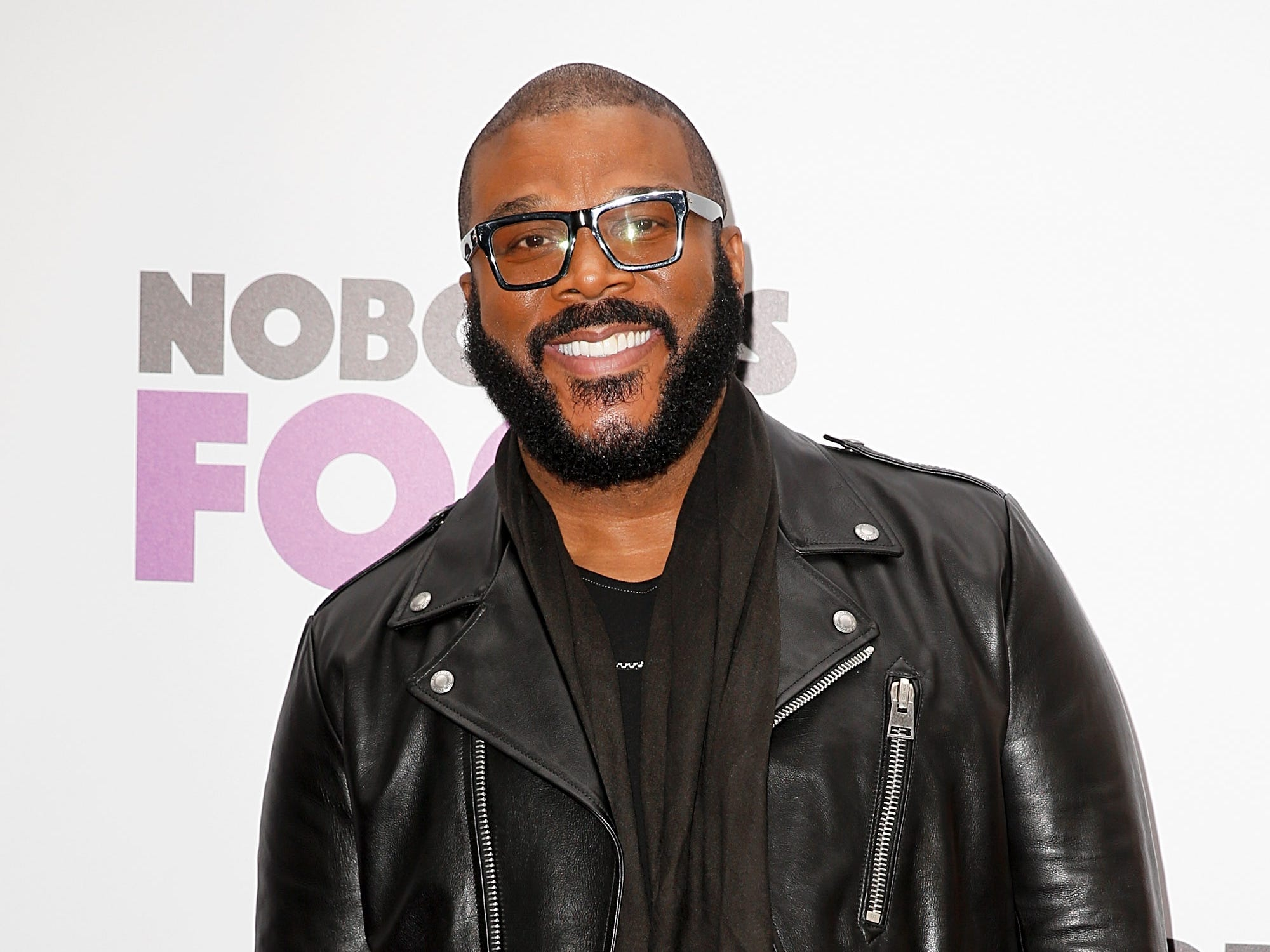 "Tyler Perry attends the ""Nobody's Fool"" New York premiere on Oct. 28, 2018, in New York City."