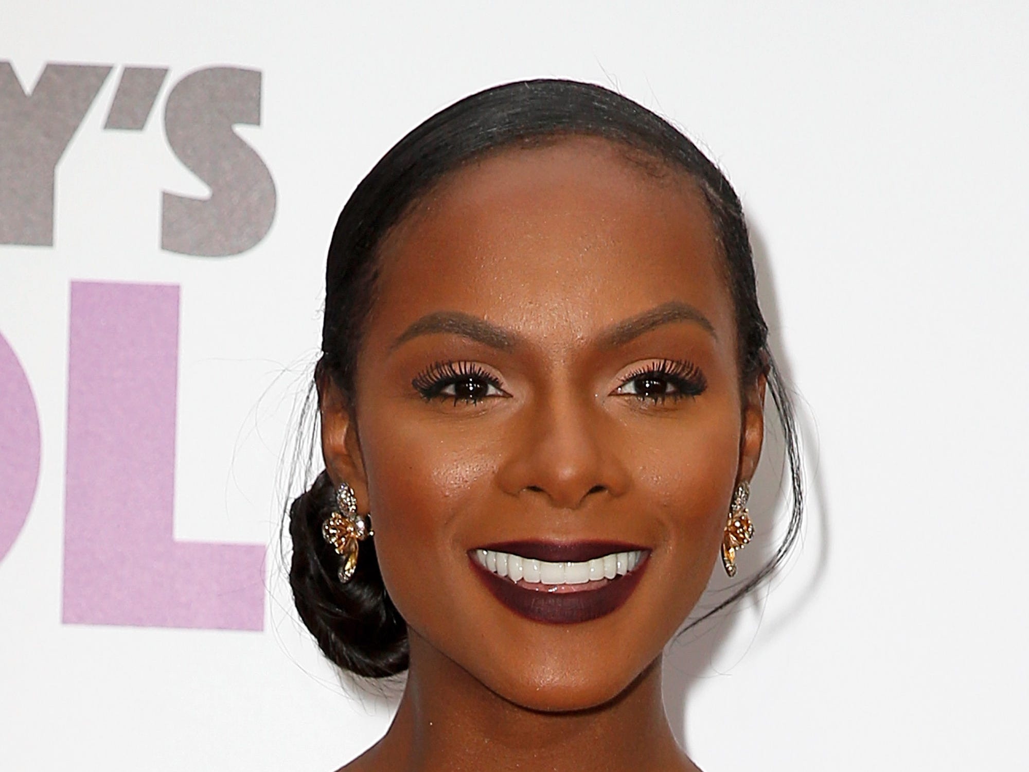 "Tika Sumpter attends the ""Nobody's Fool"" New York premiere on Oct. 28, 2018, in New York City."