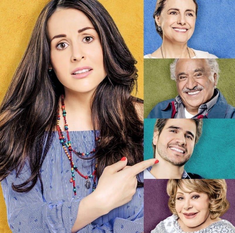 Zuria Vega se despide de 'Mi Marido Tiene más Familia'