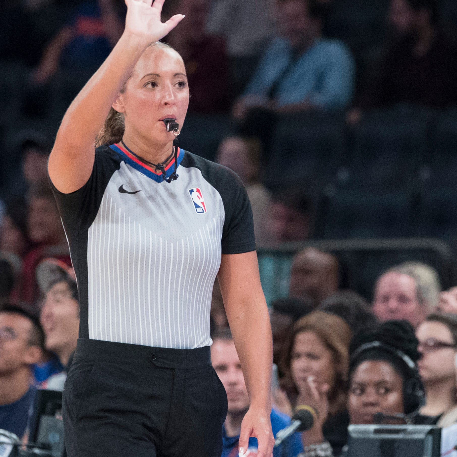 Cedar Crest grad Ashley Moyer-Gleich promoted to full-time NBA referee