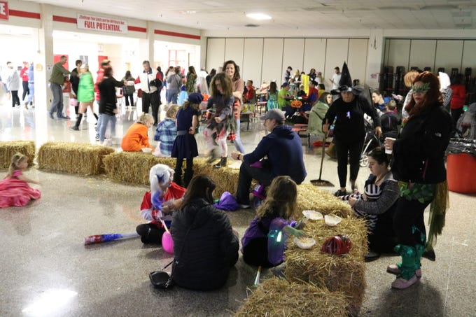 "Port Clinton High School's annual ""Spooktacular"" was a hit among local families once again."