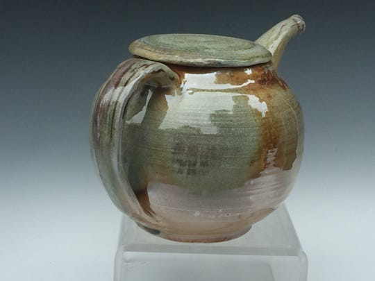 Lynn Isaacson's American Country Pottery is handmade and fired on her property in Pine Bush.