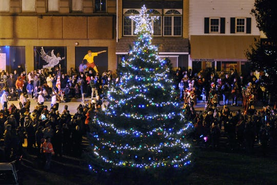 The annual City of Poughkeepsie Celebration of Lights will be held Nov. 30 on Main Street.