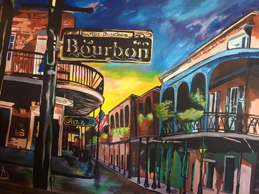 Rue Bourbon Mural Main