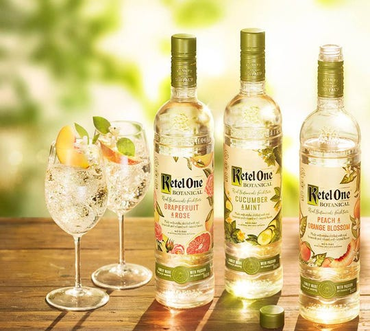 Ketel One Botanical vodkas come in three flavors.