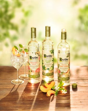 At Fantasies in Chocolate 2018, Ketel One is showcasing its new Botanical vodkas.
