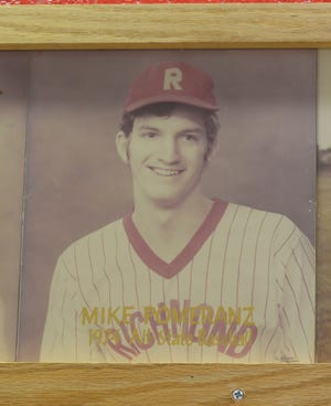 Mike Pomeranz, a 1976 graduate of Richmond High School, is the father of Boston Red Sox pitcher Drew Pomeranz. Drew won a World Series title this week