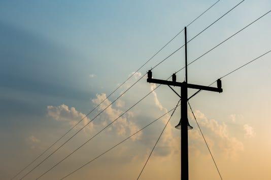 Telecommunication Tower In Evening Light