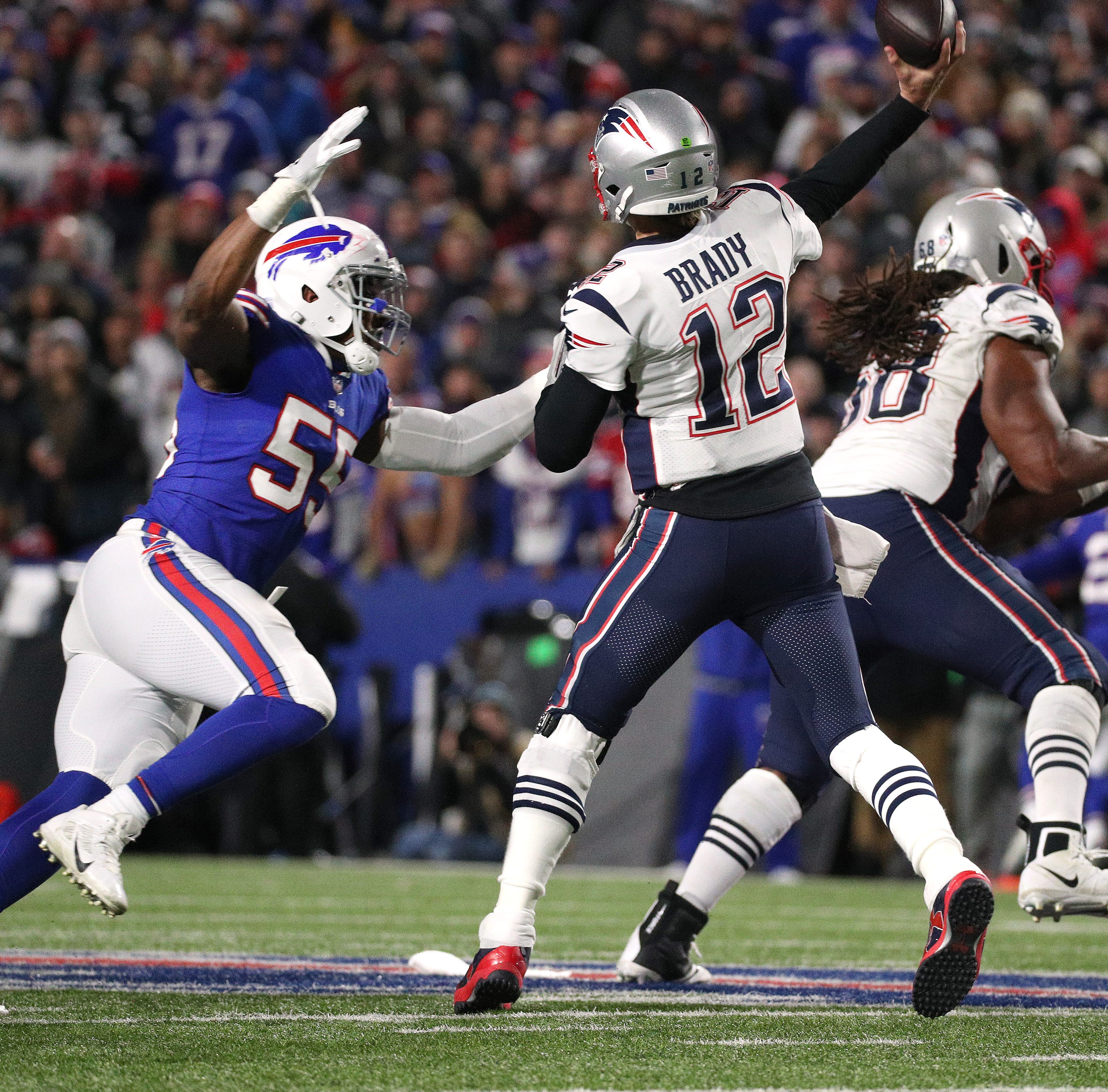 Tom Brady and New England Patriots won't be taking it easy on the Buffalo Bills on Sunday