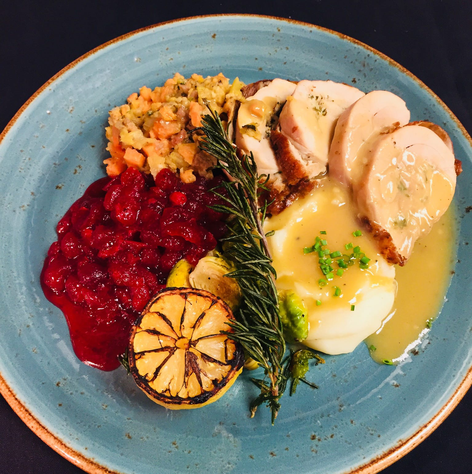 Turkey Porchetta will be one of the menu items at...