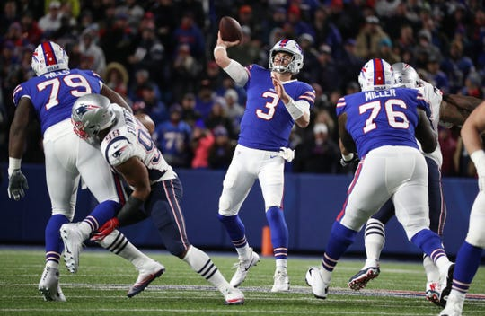 """Despite suffering serious concussion against New England, Bills backup QB Derek Anderson would relish the chance to play again, especially at age 35. """"For sure,'' he said. """"I mean, this is the profession I chose – it kind of chose me – but I'm very well aware of long-term effects, things that go on. But the ability to make money that I couldn't do elsewhere and provide for my family, I'd go back out there tomorrow.''"""
