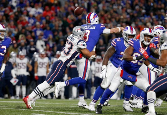 Nfl New England Patriots At Buffalo Bills