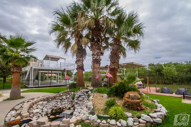 Hidden off a Lake Nasworthy canal, this home at 1536 Loop Drive gives a coastal feel in West Texas.