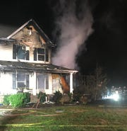 Showell Volunteer Fire Department, along with several other local volunteer fire departments, responded to a house fire at 11:10 p.m. on Sunday, Oct. 28, 2018.