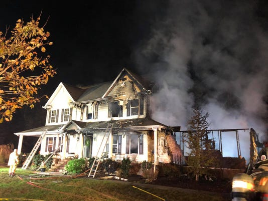 Whaleyville House Fire 2