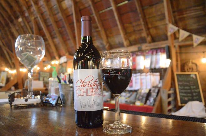 Wilde Prairie Winery's Christmas Cheer draws interest all year round.