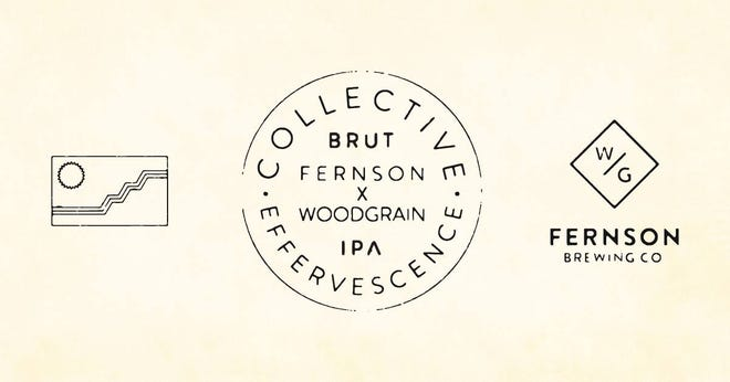 Collective Effervescence, a collaboration between Fernson Brewing Co. and Woodgrain Brewing Co., will be released to the public on Nov. 1.