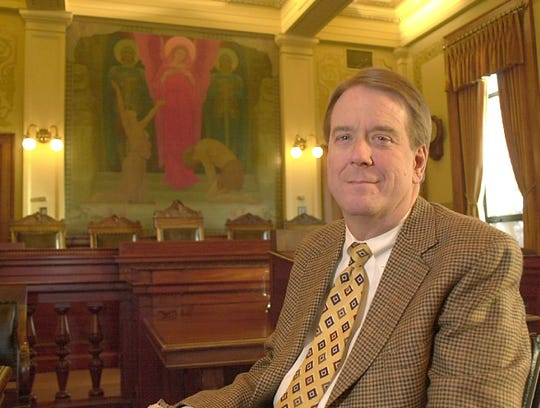 Steven Zinter in 2002 after he was appointed to the South Dakota Supreme Court.