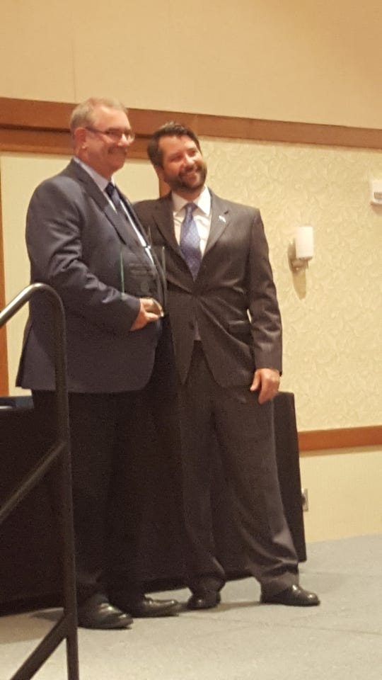 Waynesboro Police Captain Kelly Walker awarded the CIT Program Coordinator of the Year.