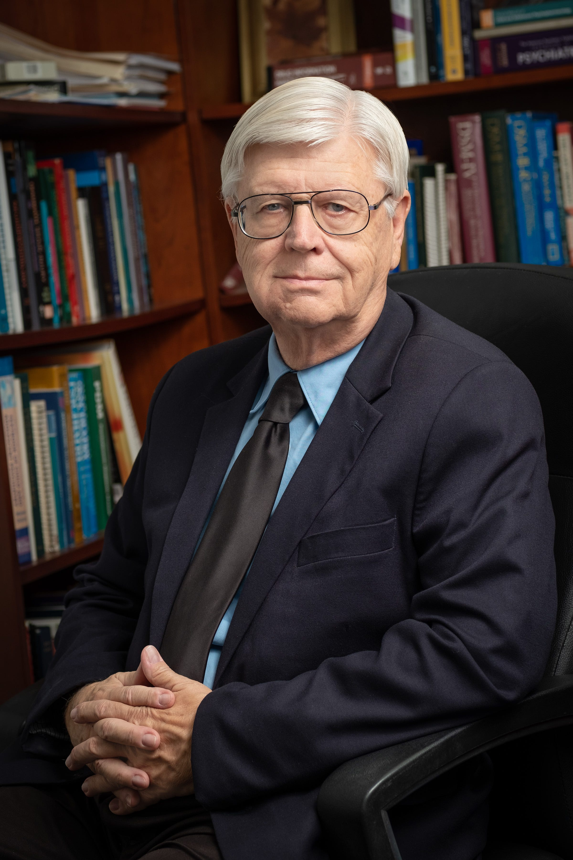 Roger Burket is a child psychiatrist, professor and chief of developmental disorders at University of Virginia Dept. of Psychiatry and Neurobehavioral Sciences in Charlottesville. Burket works with UVA's pediatric telepsychiatry program to help bring mental health services to kids in underserved areas.