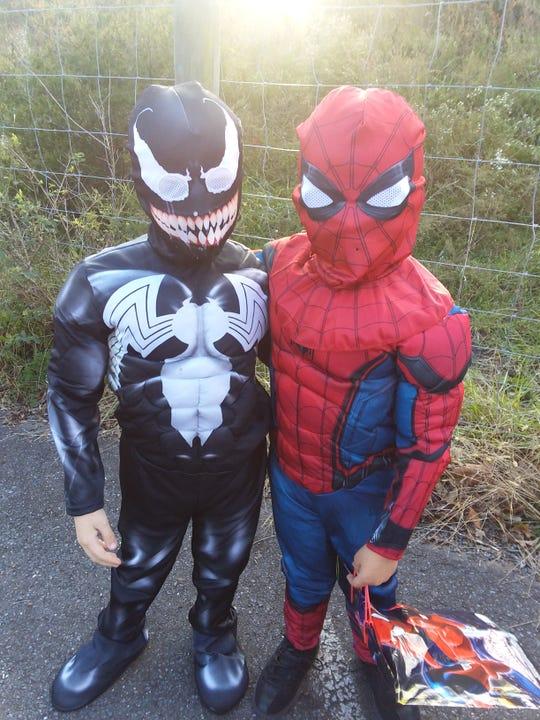 Landyn and Braydyn Young, both age 6 from Verona.