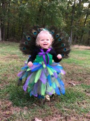 Kinsley Chandler ,17 months old, from Crimora.