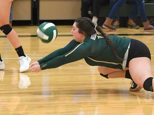 Laura Kate Major, Wilson Memorial's junior libero, had 322 digs for the Hornets this season.