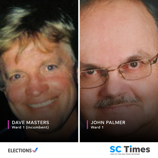 St. Cloud City Council Ward 1 candidates Dave Masters and John Palmer.